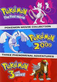 Pokemon Movies 1-3 Collection: Amazon.de: DVD & Blu-ray