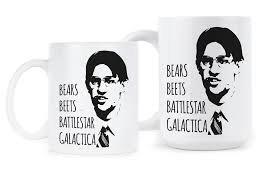 office coffee mugs. Bears Beets Battlestar Galactica Mug Office Coffee Mugs Jim Halpert Dwight Schrute Cup Gift