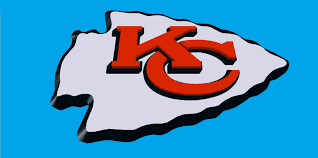 Unlike the 49ers' logo, kansas city's overlapping initials appear inside a white arrowhead instead of an oval and are surrounded by a thin black outline. Kansas City Chiefs Logo 3d Model