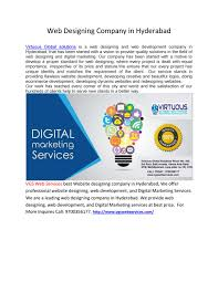 Graphic Design Courses In Mehdipatnam Web Designing Companies In Hyderabad By Vgswebservices12 Issuu