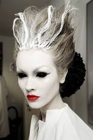 be the ice queen with this mystical looking makeup paint your face off white along