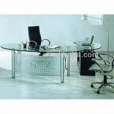 nervi glass office desk. 1 Long Big Glass Top Steel Boss Office Table Desk Set 2 Paint In Plans Nervi