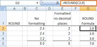 Excel Round Formulas How To Round Numbers In Excel Using 3 Rounding Functions