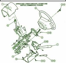 ford e econoline steering column fuse box diagram 1995 ford e350 econoline 351 steering column fuse box diagram