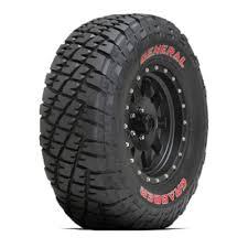 General Tire Size Chart General Grabber Tires
