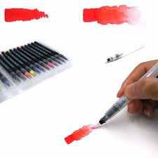 Online Shop <b>20 Colors Painting Soft</b> Brush Pen Watercolor Marker ...