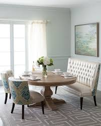 dining room banquette furniture. haute house taylor pedestal dining table u0026 tiffany seating for my kitchen room banquette furniture c