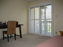 shutters for sliding glass doors with blinds inside
