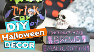 easy diy halloween room home decor ideas 2016 youtube