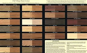 Deck Stain Color Charts Chart Download By Outdoor Minwax