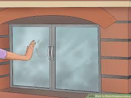 Gas Fireplace Glass Cleaner Recipe Walmart Doors Damper Electric Fireplace Glass Cleaner