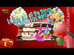 Happy Birthday Wishes For Friendwhatsapp Videogreetingsanimation