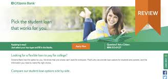 Compare Loans Side By Side Review Find Out If Citizens Bank Student Loans Are Right
