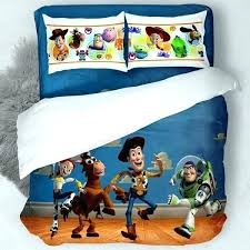 toy story bedding full toddler bed set sheets space life of and curtains