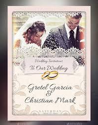 Wedding Invitation Sample Psd Invitation Templates Free