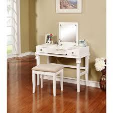 linon home decor angela 2 piece white vanity set 98373wht 01 kd u
