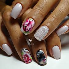 Nail Art #2790 - Best Nail Art Designs Gallery | Nail flowers ...