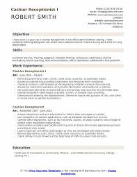 How to make a diagram with percentages. Cashier Receptionist Resume Samples Qwikresume