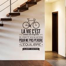 Connoch Wall Stickers Muraux Citations En Francais La Vie C Est
