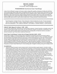 System Analyst Resume Unique Systems Analyst Resume Example Business