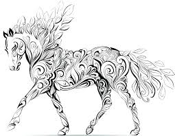 Horse Coloring Pages Breyer Color Plate Cool To Print Printable S