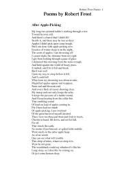 best poetry images words poetry and life lesson  robert frost s after apple picking