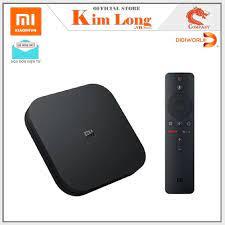 Bán Android Tivi Box Xiaomi Mibox 4K Ultra HD set-top box Global Quốc Tế  Tiếng Việt chỉ 1.325.000₫