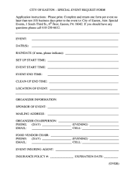 10 Printable Event Registration Form Template Word Fillable