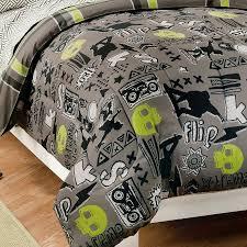 skateboard bedroom sets brilliant com my room extreme skateboarding boys comforter set with throughout 3
