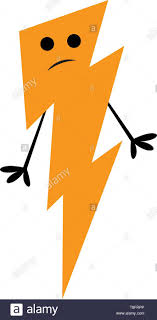 What Is A Light Yellow Discharge The Lightning With A Big Yellow Flash Of Light The