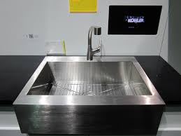 Sink Awesome Small Kitchen Sinks Stainless Steel Gauge Apron