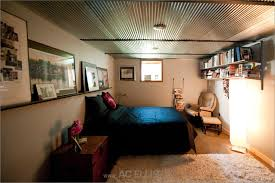 unfinished basement bedroom ideas. Unfinished Basement Ideas Endearing Bedroom Ceiling