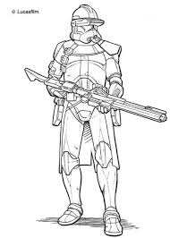 Small Picture Print Star Wars Coloring Pages Clone Troopers or Download Star