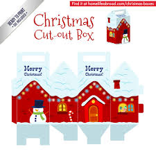 christmas house template mega collection of 38 cut out christmas box templates