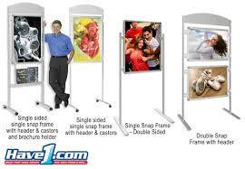 Product Display Stands Canada POP Displays Info Poles Poster Stands Ontario Canada 88