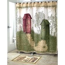 5 piece bathroom rug sets outhouse set outhouses bath country decor shower curtain and black 5 piece bathroom rug sets
