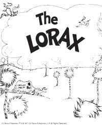 The Lorax Bonus Activities Dr Seuss Kids Book Subscription