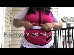 The Perfect Sculpt Size Chart Perfect Sculpt Vest Review