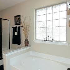 glass block window cost glass block window install creative of glass block bathroom windows with lite