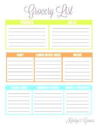 Blank Christmas List Free Printable Shopping List Template Gift Christmas Blank