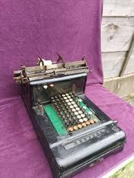 VINTAGE BURROUGHS COMPTOMETER Adding Machine Calculator Loft Find c1920 -  £25.00 | PicClick UK
