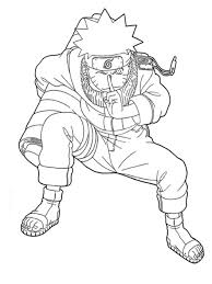 Naruto Coloring Pages Printable Cartoon Coloring Pages Of