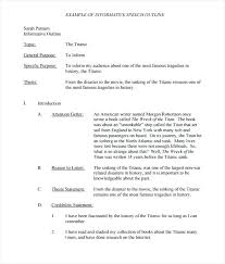 Written Essay Examples Example Of A Informative Writing