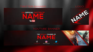 Youtube Logo Templates Youtube Banner Psd Magdalene Project Org