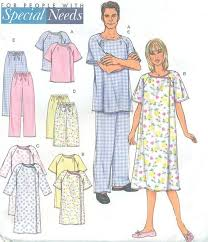 Hospital Gown Pattern Unique Butterick 48 Size XSMED Unisex Hospital Gown Shorts And Pattern