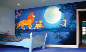 disney bedrooms. incredible, handpainted 360 degree murals - neil wilkinson | disney mural, rooms and themed nursery bedrooms
