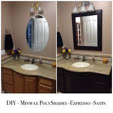 Used Bathroom Vanity Cabinets Diy Bathroom Cabinet Light To Dark Conversion Using Minwax