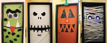 office halloween decorations. halloween office door decorations diy