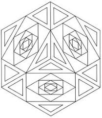 Small Picture Printable Geometric Coloring Pages 22861 Bestofcoloringcom