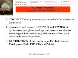 FUTURE PLANS 2005 -2010 Avi Shapira ISC s EC